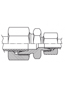 Reducción recta tubo - tubo