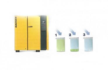 Tratamiento adecuado del condensado en compresores